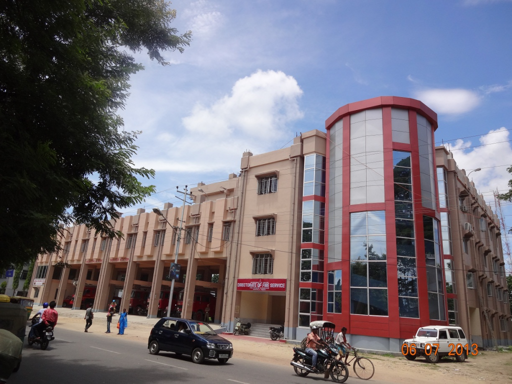 Newly Constructed Fire Service DIRECTORATE & AGARTALA Fire Service Station
