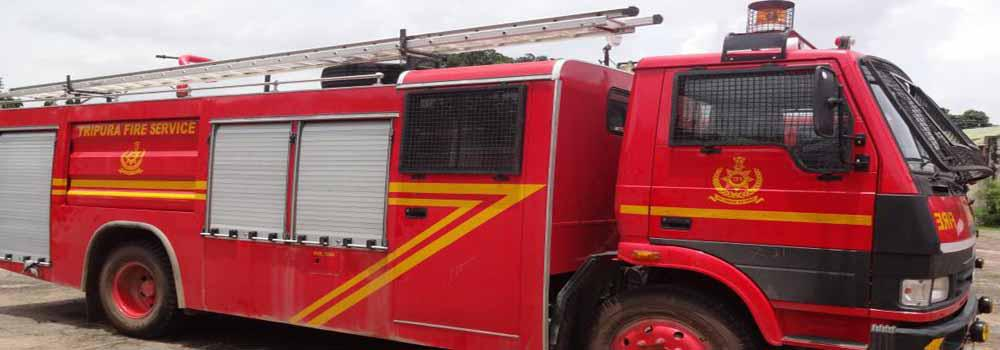 Water Fire Tender 4000 ltrs